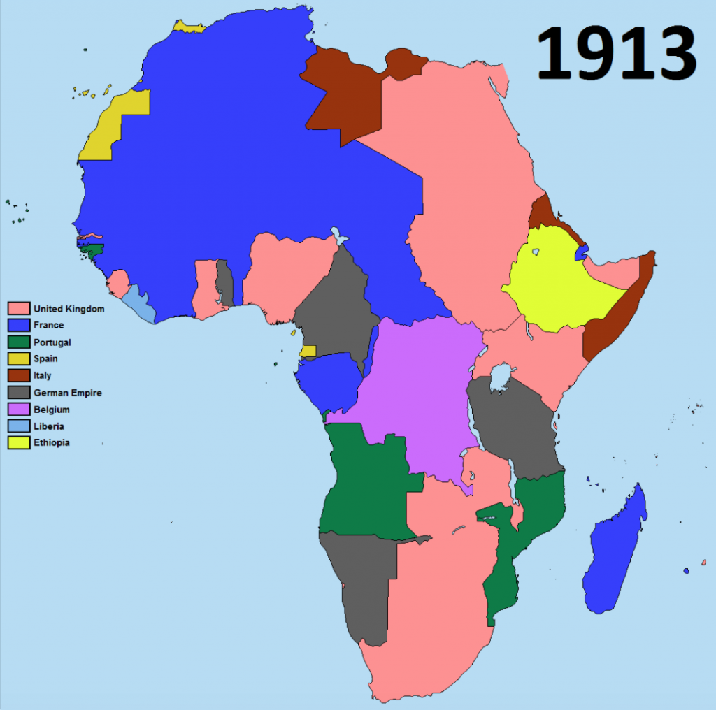 Africa after colonisation